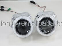 HID Projector Universal Used for Bi-xenon Projector Lens Car Headlamp to Install LED Angel Eye