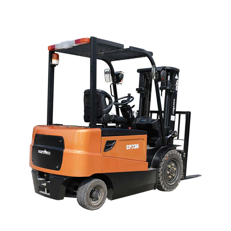 Battery Electric Forklift 3 Ton Lift Truck with Cab (CPD30)