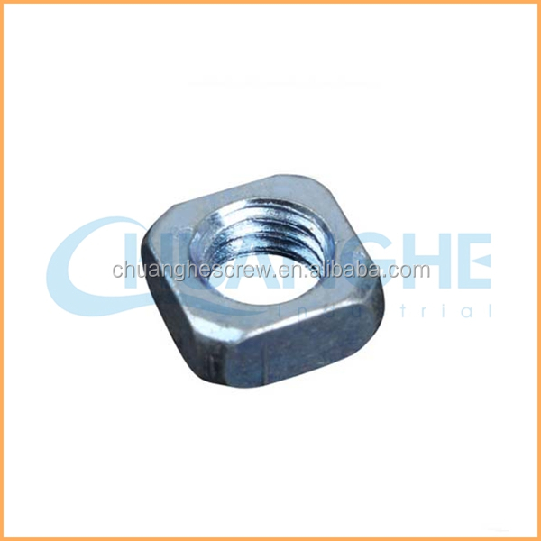 Factory supply high quality din562 square nut without bevel