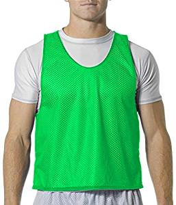 0f1728edb5 Get Quotations · Mid Reversible Mesh Pinnies for Lacrosse,Soccer,Field  Hockey