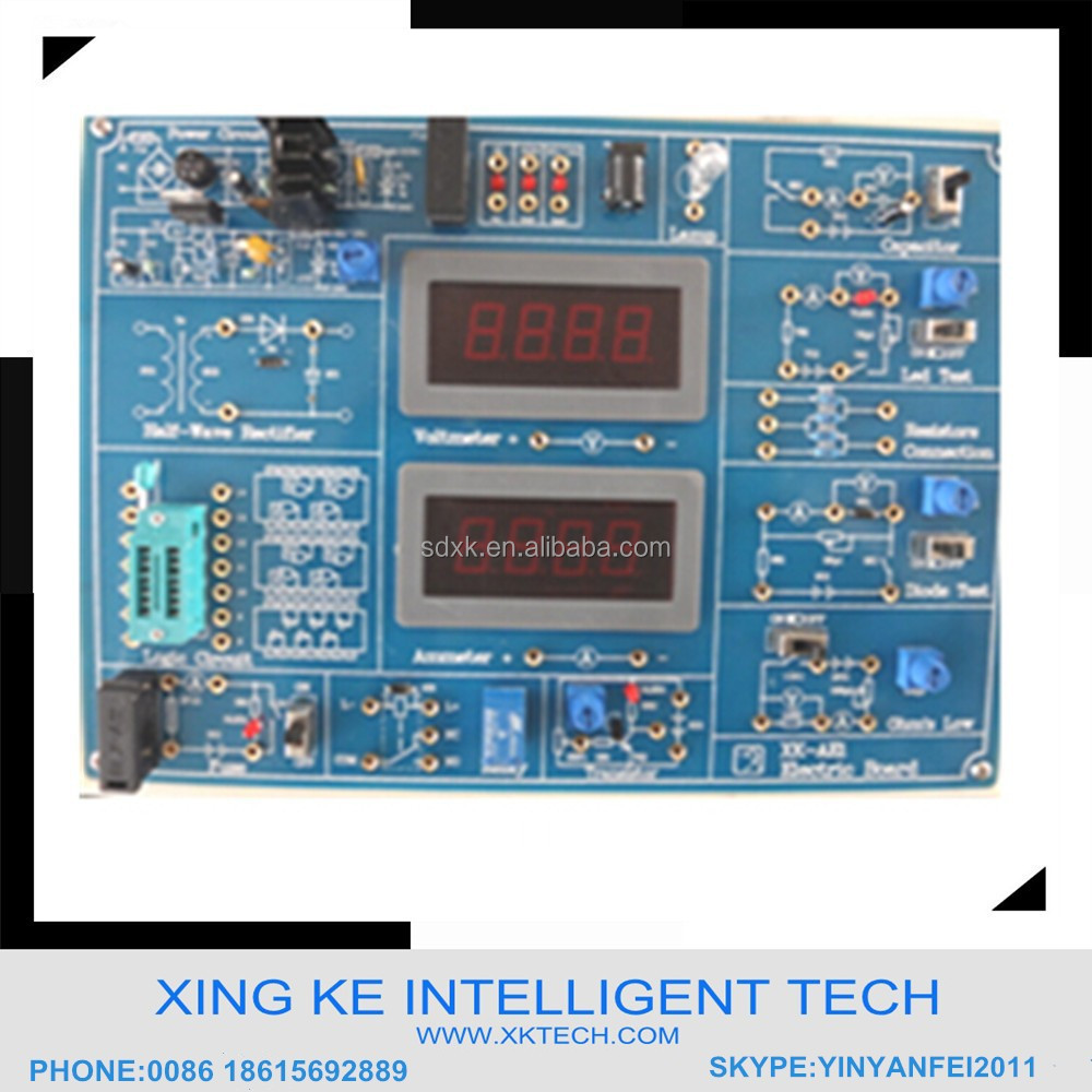 Analog & Digital Electronic Training Board