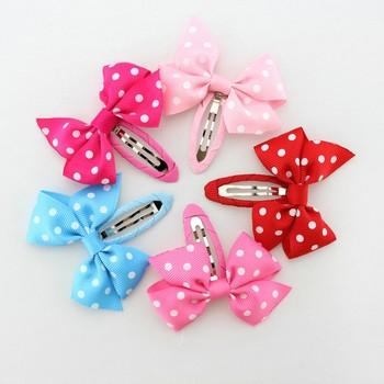 5d4216b83 Lindo único niño coreano elegante broches bebé niñas Bowknot accesorios para  el cabello niñas BB pasador