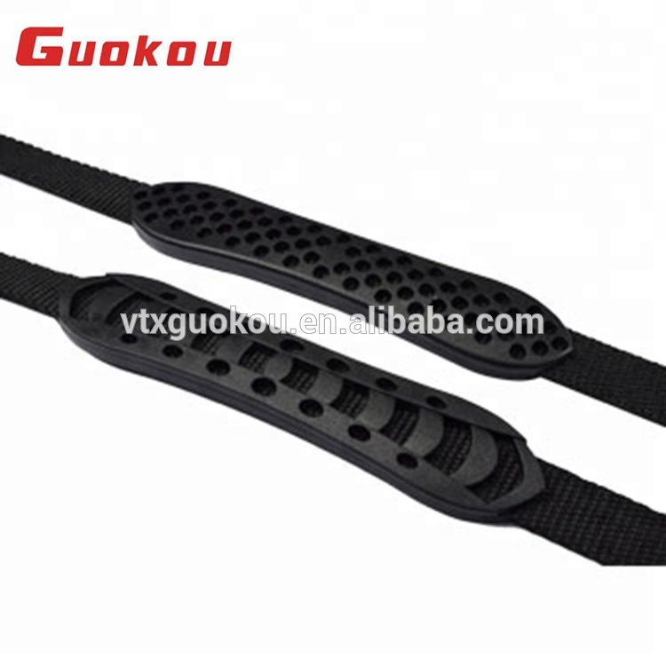 High grade quilted plastic golf bag handles for backpacks and luggage