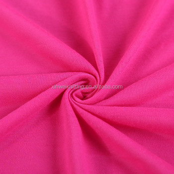 100% cotton stretched single jersey knit fabric textile for shirt fabric cloths