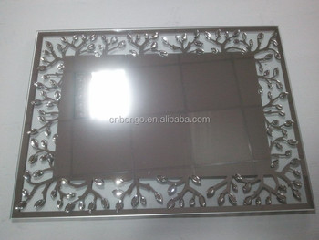 cheap fancy decorative wall mirror for bathroom