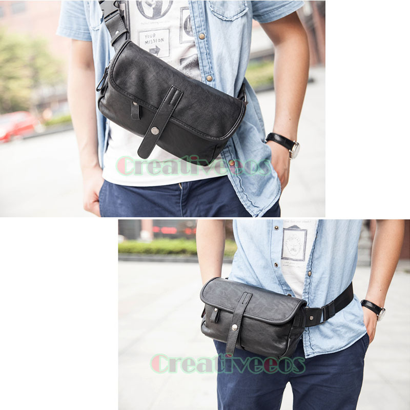 88bbbfc8b9ae Buy Mens Fashion Lichee Pattern PU Leather Belt Buckle Fanny Pack Waist Hip  Bum Sling Chest Sports Bag in Cheap Price on Alibaba.com