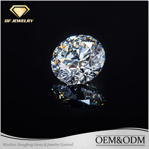 Factory cvd diamond machine cut jewelry diamond synthetic diamond price per carat