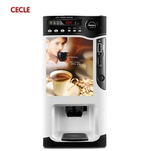 automatic commercial hot food coffee vending machine
