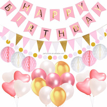 Trending Hot Products Birthday Party Supplies Pack Happy Birthday Banner Design