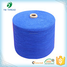 Colored 100 polyester spun yarn 30/1 for Fabric knitting