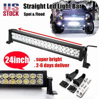 "20"" 120w spot flood combo LED WORK LIGHT BAR 4WD boat UTE driving SUV lamp 21 inch"