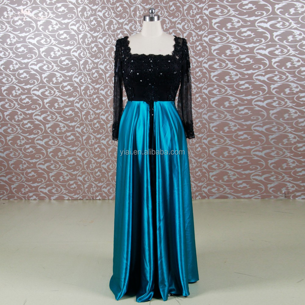 Peacock Blue Chinese Wedding Dress