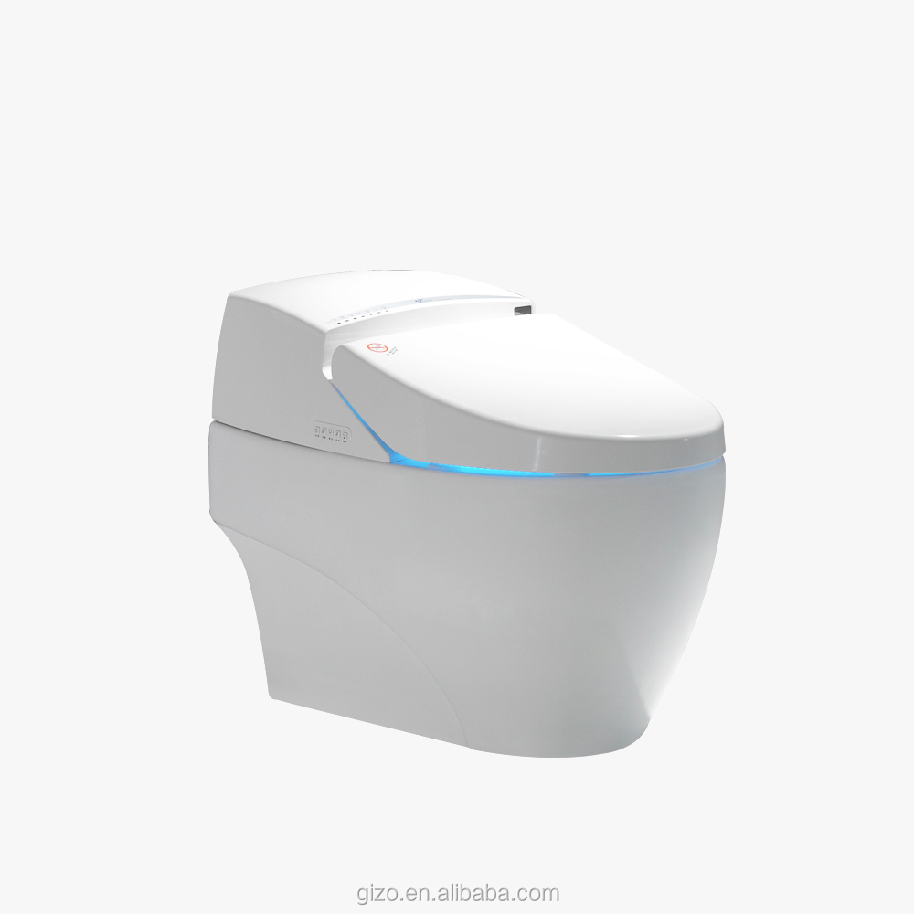 Sanitary ware sensor seat smart electric bidet women and elder wc toilet
