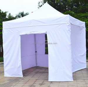 Garden or outdoor picnic used white fold entertainment tent