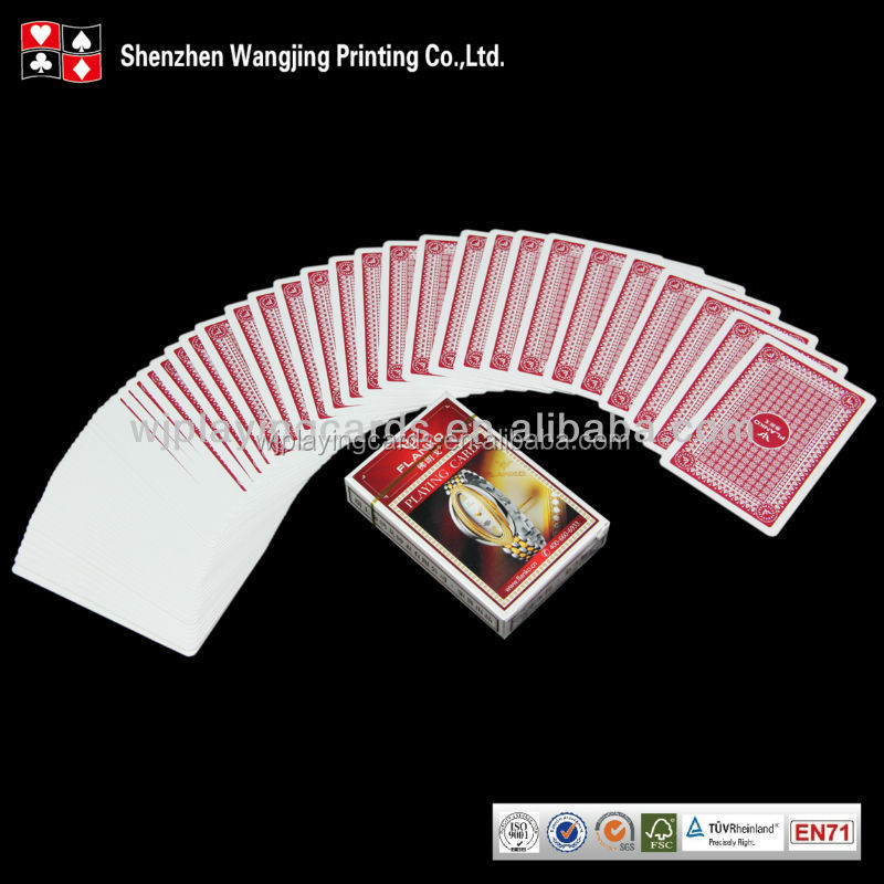 hot sale top quality custom playing cards plastic,cheap fashion wholesale custom playing cards