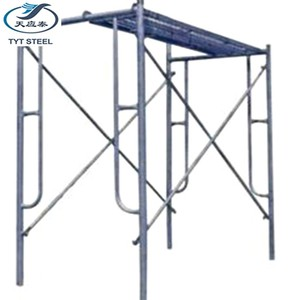 Metal ladder frame scaffolding system parts for construction manufacturer in Tianjin,China