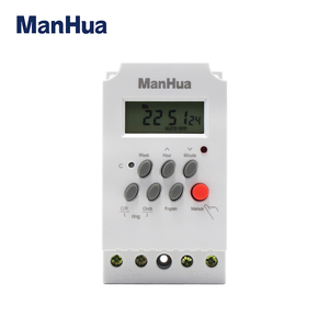 Manhua MT316B Best Selling Product Mini Digital Electric Rechargeable Switch Timer for School Bell
