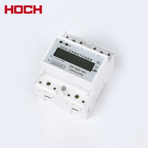 HOCH DDS870 single phase electronic KWH modbus household din rail prepaid smart energy meters
