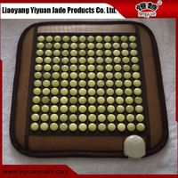 Super value durable leather improve memory jade stone heating pad