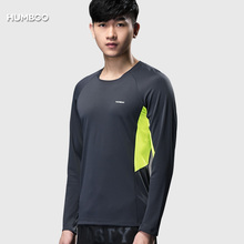 2018 Polyester Spandex Elastic Breathable Sport Shirt Mens Wear Tees