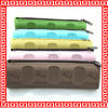 chocolate shape pencil bag silicone pencil bag students