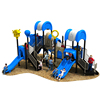 China high quality kids toy outdoor playground equipment large plastic tunnel slide for sale