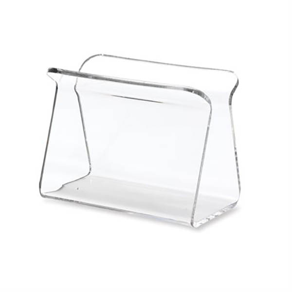 Custom Lovely Bent Clear Acrylic Blood Unit Boot Stand Holder