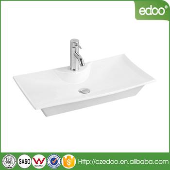 Bangladesh Design Low Price Ceramic Top Mounted Sanitary Ware Square  Bathroom Wash Basin - Buy Shape Bathroom Wash Basins,Faucet Tap Ceramic  Hand Wash