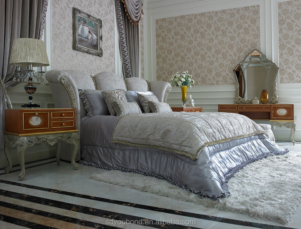 0066 italian romantic wedding bedroom furniture princess for Princess style bedroom furniture