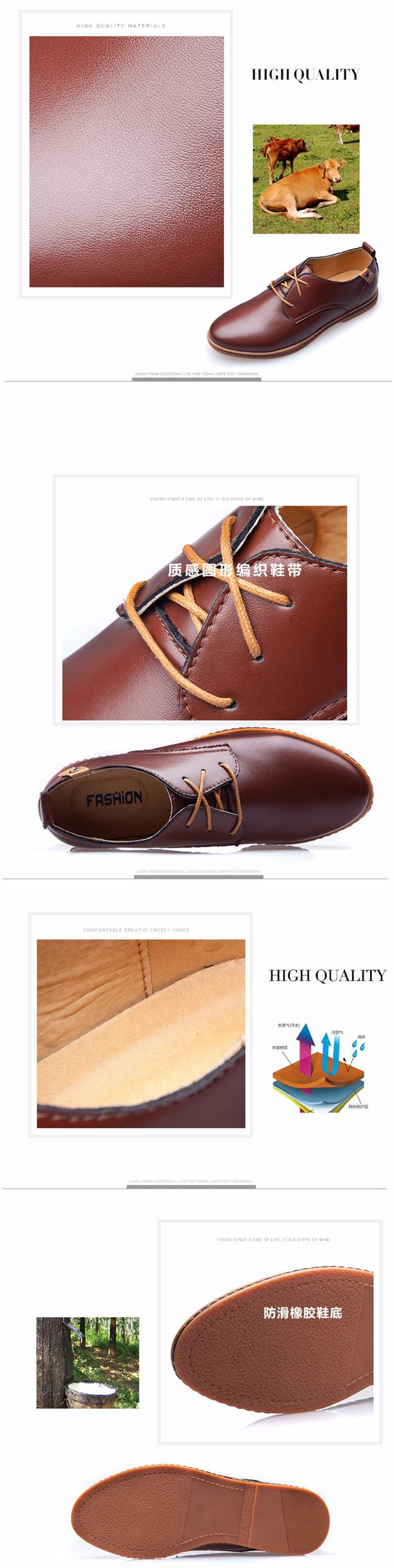 Los Hombres Zapatos De Vestir Zapatos Casuales De Cuero Genuino Zapatos Planos Zapatos De Los Hombres De Verano Fresco Y Invierno Caliente Hombres