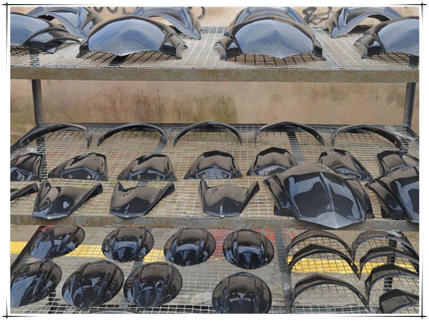 Custom Carbon Fiber Motorcycle Parts Front Fairing