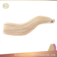 Grade 8A Colorful New Beauty Style! Double Drawn Keratin Fusion 1g/pcs nail/u tip indian remy human hair extension