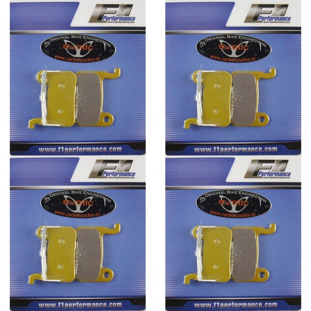 4 Pairs of Shimano XTR XT Saint SLX CERAMIC PRO Disc Brake Pads BR-M665 M765 975