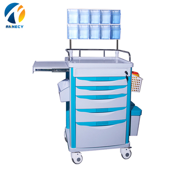AC-AT019 hot sale patient abs anesthesia drugs  trolley for sales