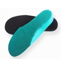 Green EVA arch orthotic insole for kid