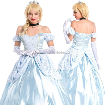 Plus Size New Princess Cinderella Elite Collection Adult Cosplay ...