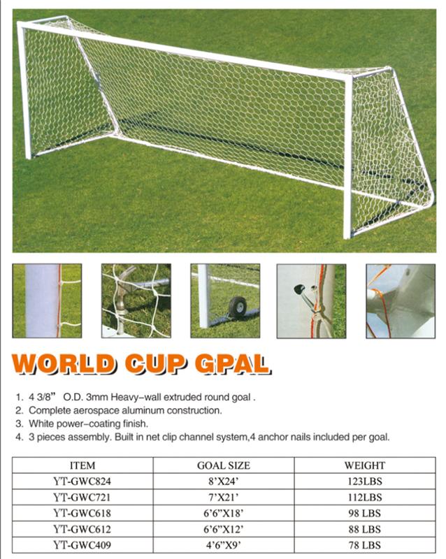 d70d9558c Alibaba China New Football Net 24 x 8FT Soccer Goal Post Nets Full Size  Sports Training