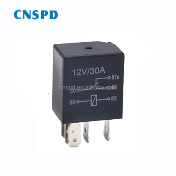 12v 30a 5pin Spdt Micro Automotive Relay - Buy Micro Relay,Automotive Jd Relay Pin Wiring Diagram on