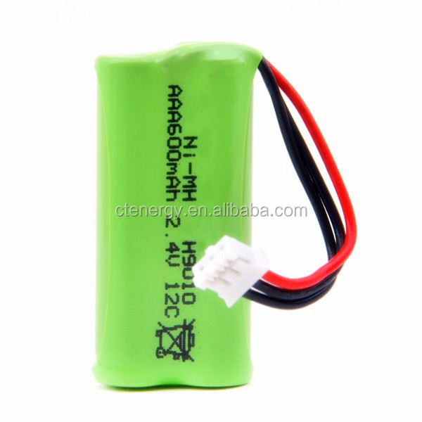 Nimh Battery Pack 2.4v/ Nimh Type Rechargeable Battery Pack 2*aaa ...