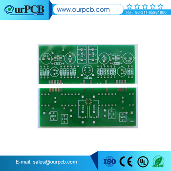 Red Solder Mask Pcb Bluetooth Speaker Circuit Board - Buy Fr4 Double-sided  Pcb With 1 6mm Thickness 2 Layer,Pcb,Bluetooth Speaker Circuit Board