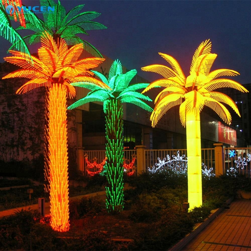 Palm Tree Lights Christmas.2018 Christmas Products Led Coconut Tree Light Outdoor Waterproof Led Artificial Palm Tree Lights Buy Led Tree Light Tree Light Led Palm Tree Light