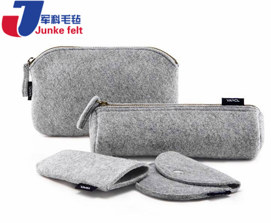 Plastic manufacture stationery pencil case bag with low price