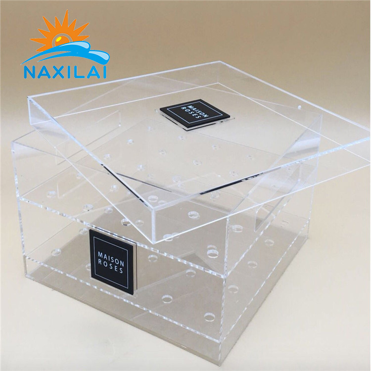 acrylic flower box-42