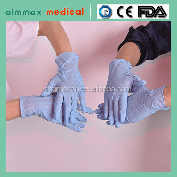 2016 New Products Medical Disposable Powdered Latex Examination Gloves Cheap Latex Gloves Wholesale Latex Cheap