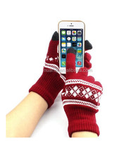 Winter Hot Sale Customize Unisex Igloves Screen Touch Gloves