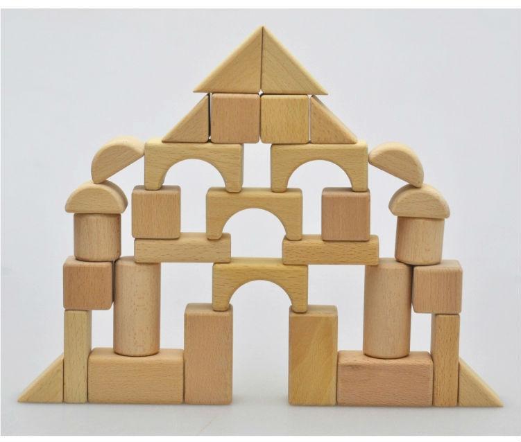 Hot Sale Handmade Wooden Building Blocks Toys For Kids Buy