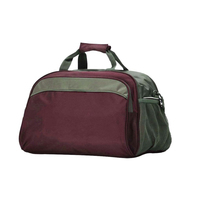 Vintage Style Suede Leather Duffel Bag