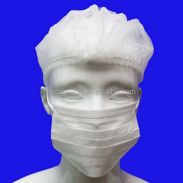 Polypropylene disposable surgical head cover