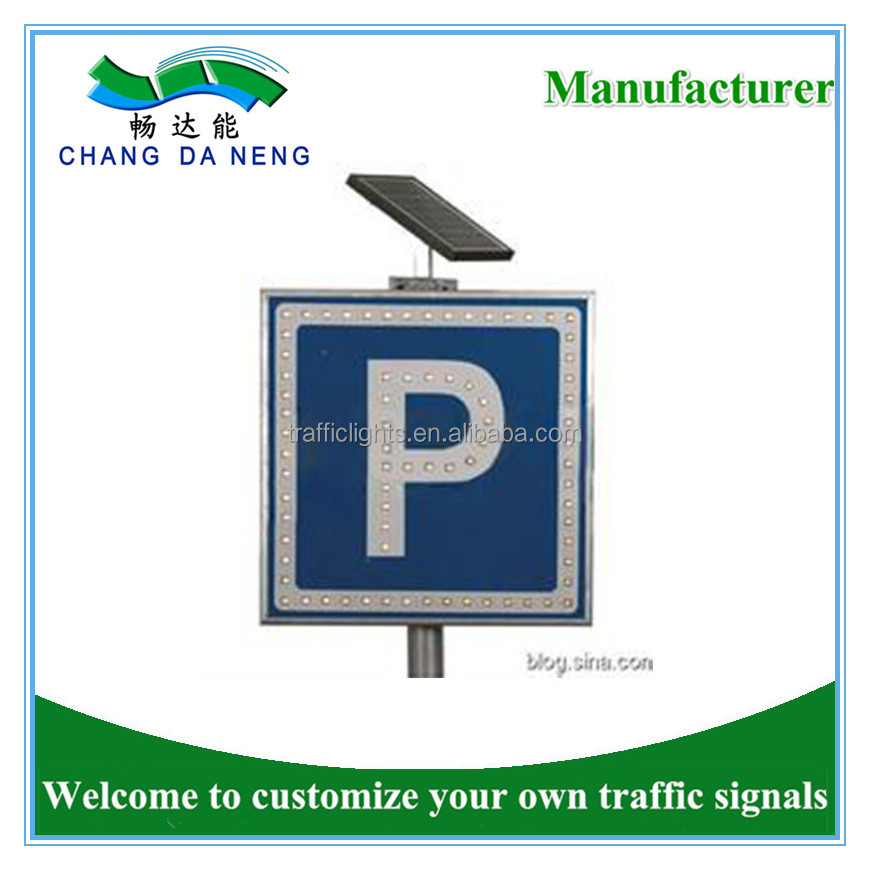 Ip65 Waterproof 5w Traffic Safety Symbol