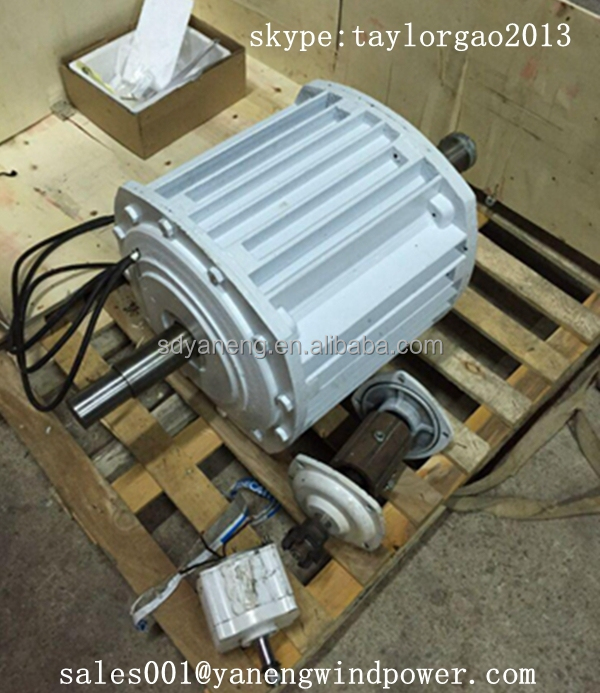 10kw brushless dc motor 10kw wind generator 10kw pmg for What is found in a generator and motor